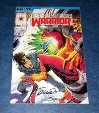 ETERNAL WARRIOR #2 signed 1st print JIM SHOOTER J.JACKSON VALIANT COMIC 1992
