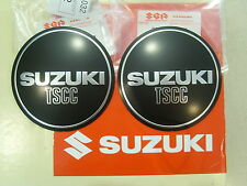 Set of Genuine Suzuki Engine Case Emblem Right Left GSX250E GSX400E