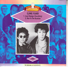 """CLIMIE FISHER  Love Changes (Everything) PICTURE SLEEVE 7"""" 45 rpm record NEW"""