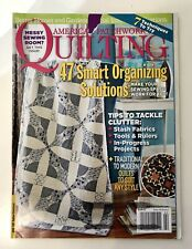 QUILTING American Patchwork, original PATTERN still attached, February 2015