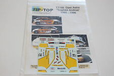 DECALS 1/43 OPEL VAUXHALL ASTRA MULLER TROPHEE ANDROS 1995 RALLYE WRC RALLY