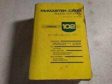 Vintage 1996 McMaster-Carr Supply Company Atlanta, Ga Catalog 102 Tool Manuel