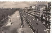 France Postcard - Rue De Rivoli Et Jardin Des Tuileries - Ref 4132A