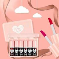 TEAYASON 6 Color Matte Lipstick Liquid Long-Lasting Gloss Shimmer Lip Matte