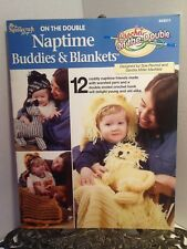 Crochet On the Double Naptime Buddies and Blankets PATTERNS Children Infant Baby