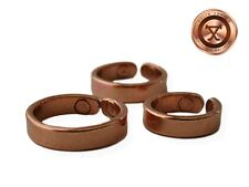 ProExl SOLID Womens Copper Magnetic Ring Lapaz Small Size 7