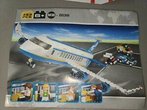 Sluban Building Blocks 463 pcs M38-B0366 Airplane Construction Toys Set