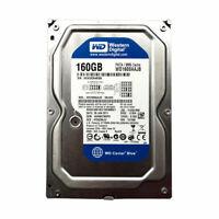 """WD 160GB WD1600AAJB 7200RPM 8MB Cache IDE PATA 3.5"""" Desktop HDD Hard Drive"""
