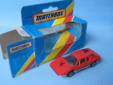 Matchbox Ferrari 308 Red and Silver Italian Sports Car 70mm Boxed