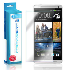 2x iLLumi AquaShield Crystal HD Clear Screen Protector Shield for HTC One Max