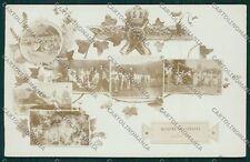 Varese Valcuvia Brenta Militari Foto cartolina QQ6782