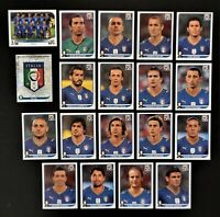 Panini WM 2010 Italien Italy Mannschaft Team Complete Set World Cup WC 10