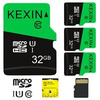 3pcs 32G Micro SD Card SDXC Flash Class 10 TF Card Memory Card 70MB/s Store Card