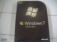 Microsoft Windows 7 Ultimate Upgrade 32 & 64 Bit DVD MS WIN =NEW SEALED BOX=