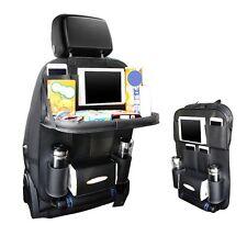 Car Seat Back Organizer Multi Pocket Travel Storage Coolr Bag Drinks Holder Tray