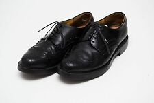 MENS LLOYD BROGUES FORMAL SHOES 100 % REAL LEATHER BLACK SIZE UK 8 EXCELLENT