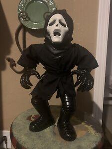 """Quest Stretch Screamers Ghoul Scream Ghostface 1996 Electronic RARE 12"""""""