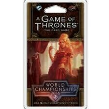 GAME OF THRONES LCG WORLD CHAMPIONSHIPS 2016 DECK CARD GAME BRAND NEW & SEALED