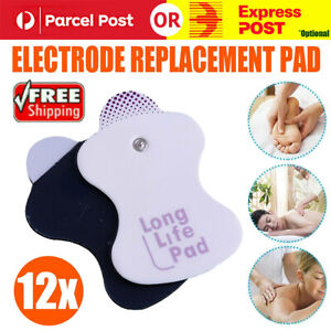 12Pcs Electrode Replacement Tens Pads for Omron Elepuls Long Life Massagers Pad