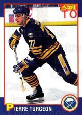 1991-92 Score Kelloggs #6 Pierre Turgeon