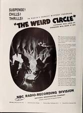 OTR: X-MINUS ONE, WEIRD CIRCLE & STRANGE DR WEIRD Old Time Radio 225 EPISODES