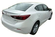 2014-2015 Mazda 3 Primed UnPainted Rear Lip Spoiler Factory Style Flushmount New