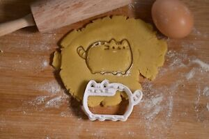 Pusheen Cartoon Cat - Cookie Cutter - Biscuit Cutter - 3 Sizes