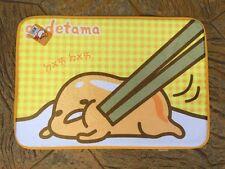 Sanrio Gudetama Bathroom Door Absorbent 45x65cm Bath Mat Carpet Gt-10503-dm