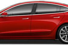 Tesla Modell 3 Fenster Säule Grafiken Set 3M Di-Noc Aufkleber Wrap - Carbon