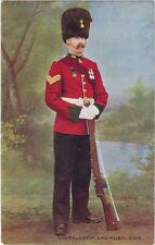TUCK : NORTHUMBERLAND FUSILIERS -Sergeant -OILETTE 9328