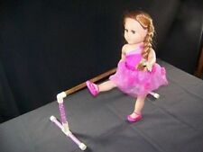 """BALLET - DANCE BARRE fits American Girl * & 18"""" dolls - Decorated - no OUTFIT"""