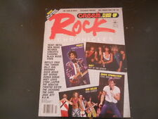 Prince, Bruce Springsteen, Motley Crue - Creem Rock Chronicles Magazine 1985