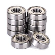 10pcs 822mm 608zz Metal Shielded Miniature Ball Bearing High Speed Bearings Us