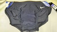 Nike Boys Youth Team Competition Color Blue Brief Swim Trunks Swimsuit TCSS0008