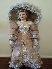 "NRFB ""LADY JULIA"" Designer Guild Collection 36' Porcelain Doll by Thelma Resch"