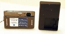 "Sony Cyber-shot DSC-TX1 10MP ""Exmor R"" CMOS Digital Camera w/3"" Touch-Screen LCD"