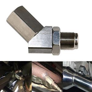 Metal O2 Oxygen Sensor M18X1.5 Car Fix Check Engine Light CEL Eliminator Adapter