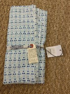 NWT Kiska Textiles Filigree Indigo Pillow Sham