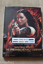 Igrzyska Śmierci - W pierścieniu Ognia - The Hunger Games: Catching Fire DVD