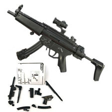 1/6 4D MP5 Gun Model Assembly Puzzle Weapon Submachine Military Action Figure