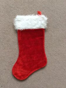 Brand New One Size Red Unbranded Christmas Stocking