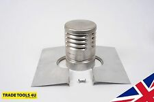 "GAS COWL + CLAMP PLATE 'KIT' TO FIT A 4"" FLUE LINER - BRAND NEW - UK MADE!"