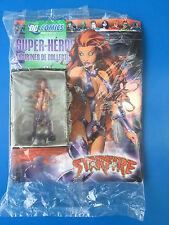★ DC Comics Super Héros - Eaglemoss - Figurine STARFIRE n°17 ★ Neuf EN PLOMB