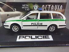 R&L Diecast: Kaden Skoda Octavia Estate, Czech Policie Police