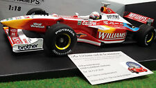 F1 WILLIAMS PROMOTIONAL SHOWCAR formule 1 ZANARDI 1999 1/18 MINICHAMPS 180990095
