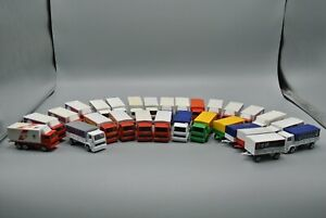 Majorette Hauler Truck and Trailer Ford Lot of 28 Loose Diecast Cars France