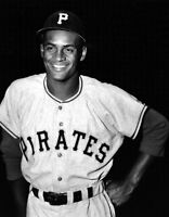 Roberto Clemente Photo 11X14 - 1955 Pirates Rookie