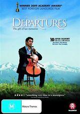 Departures NEW R4 DVD