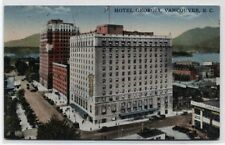 HOTEL GEORGIA~VANCOUVER,BC CANADA~1936  POSTCARD