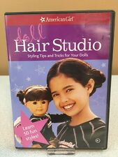 American Girl Doll Hair Studio DVD - Styling Tips & Tricks for Your Dolls